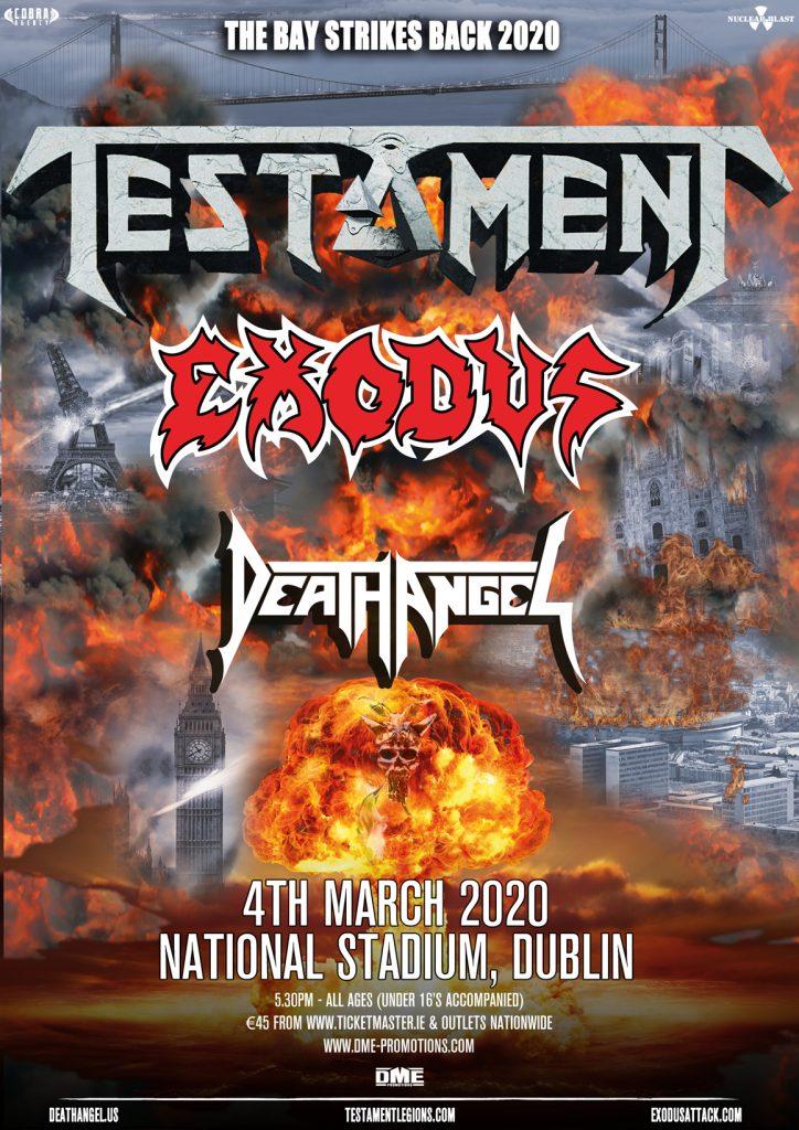 Slayer Tour 2020.Slayer Testament Tour 2020 Tour 2020 Infiniteradio
